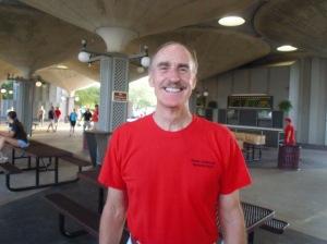 Triathlon Director Dave Johnson