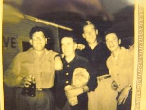Neil--Johnny--Lonnie--Roland (circa 1952)