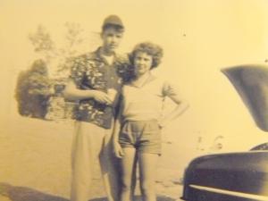 On a date (circa 1952)